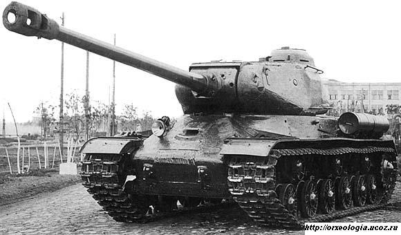 Эталонный образец танка ИС-122